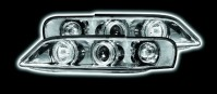 VAUXHALL VECTRA B 96-02 TWIN HALO HEADLIGHTS