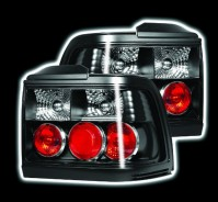 ROVER 200/400/COUPE 10/89-2/95 BLACK REAR TAIL LIGHTS