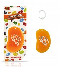 Jelly Belly Bean 3D Car Home Office Air Freshener Orange Tangerine Fragrance