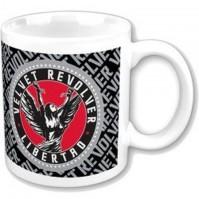 Velvet Revolver Libertad Logo Boxed White Coffee Gift Mug Official Album Cover