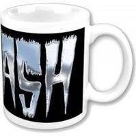 Slash Guns N Roses Logo Boxed White Coffee Gift Mug Official Fan Merchandise