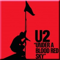 U2: Under a Blood Red Sky Magnet
