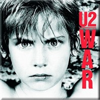 U2 Metal Steel Fridge Magnet War Album Cover Fan Gift Idea Official