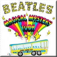 Beatles Metal Fridge Magnet Magical Mystery Tour Album Cover Fan Gift Official