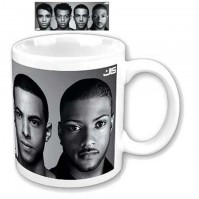 JLS Band Photo Picture Image White Coffee Mug Boxed Official Gift Album Cover