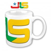 JLS Band Logo Picture Image White Coffee Mug Cup Boxed Official Fan Gift Idea
