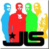 JLS Metal Fridge Magnet Band Silhouette Band Cover Album Fan Gift Official