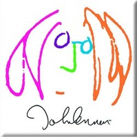 John Lennon Metal Fridge Magnet Self Portrait Image Album Fan Gift Official