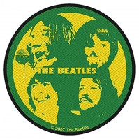 The Beatles Green Yellow Silhouette Album Band Iron Sew On Patch Badge Official