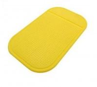 Yellow Car Interior Magic Sticky Dashboard Phone / Key / Money Mat