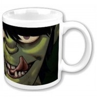 Gorillaz Band Characters Images White Coffee Mug Cup Boxed Official Fan Gift