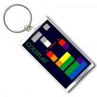 Coldplay Band Logo X&Y Album Cover Metal Keychain Keyring Fan Gift Official