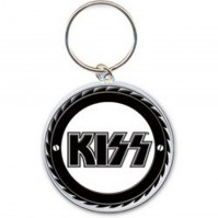 KISS Alive Worldwide 1996-1997 Buzzsaw Metal Keychain Keyring Fan Gift Official