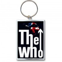 The Who Leap Arrow UK Flag Logo Image Icon Metal Keychain Keyring Gift Official