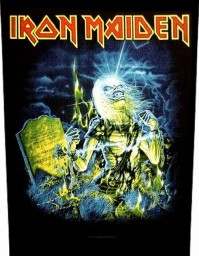 Iron Maiden Live After Death Back Patch Badge Album Cover Jacket 100% Official