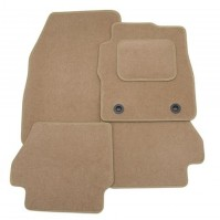 Fiat 500 (2007-present) Exact Tailored To Fit Beige Car Mats