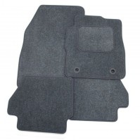 Smart Car Fortwo (2004-2007) Exact Tailored To Fit Grey Car Mats