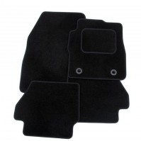 Toyota HiLux Twin Cab (2009-present) Exact Tailored To Fit Black Car Mats
