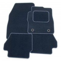 Mazda 2 (2007-present) Exact Tailored To Fit Blue Car Mats