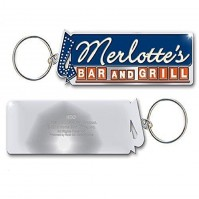 True Blood TV Show Merlottes Logo Metal Keychain Keyring Gift Official