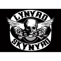 Lynyrd Skynyrd Skull Biker Patch Postcard Photograph Picture Image 100% Official
