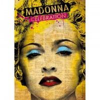 Madonna Celebration Postcard Photograph Picture Image Album Cover Retro Official