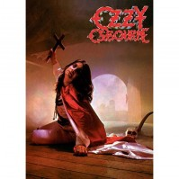 Ozzy Osbourne Blizzard Of Oz Album Cover Postcard Genuine Official Merchandise