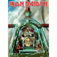 Iron Maiden Aces High Postcard Band Album Cover Picture Image 100% Official