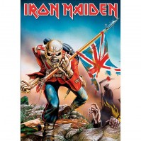 Iron Maiden The Trooper Postcard Band Album Cover Picture Image 100% Official