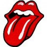 The Rolling Stones Classic Tongue Lips Iron On Sew On Patch Badge 100% Official