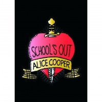 Alice Cooper Schools Out Album Cover Postcard Heart Dagger Fan Gift Official