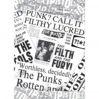 Sex Pistols Newspaper Album Cover Postcard Picture Punk Official Merchandise