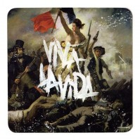 Coldplay Viva La Vida Single Drinks Coaster Gift Band Album Fan Official
