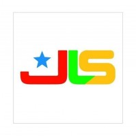 JLS Band Logo White Greeting Birthday Card Any Occasion Blank Fan Album Official