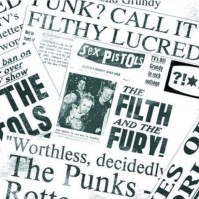 Sex Pistols Newspaper Greeting Birthday Card Any Occasion Album Cover Official