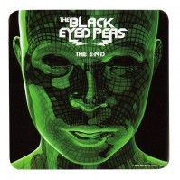 Black Eyed Peas The End Single Drinks Coaster Gift Band Album Fan Official