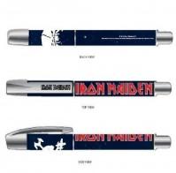 Iron Maiden Final Frontier Logo Black Rollerball Gel Pen Album Cover Official