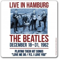The Beatles Live In Hamburg Single Drinks Coaster Gift Band Album Fan