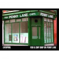 The Beatles Penny Lane Fish And Chips Shop Postcard Photograph Picture Official