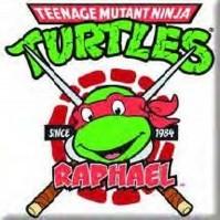 Teenage Mutant Ninja Turtles Rafael Metal Fridge Magnet TV Film Official