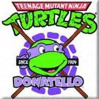 Teenage Mutant Ninja Turtles Donatello Metal Fridge Magnet TV Film Official
