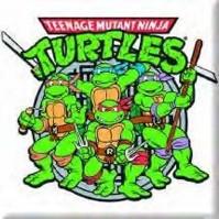 Teenage Mutant Ninja Turtles Group Image Metal Fridge Magnet TV Film Official