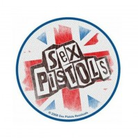 Sex Pistols Union Jack Iron Sew On Clothing Patch Badge Decal Bag Sign