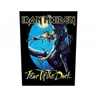 Iron Maiden Fear Of The Dark Back Patch Badge Album Cover Jacket 100% Official