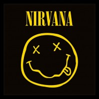 "Nirvana Smiley Album Cover 12"" Album Cover Framed Print Picture Hanging Logo"