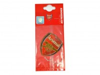 Arsenal FC Football Club In Car Hanging Cardboard 2D Air Freshener Official