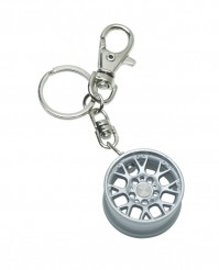 Car Enthusiast Keyring Key Chain Alloy Wheel Rim Gift Idea Drift Petrolhead Spoke