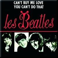 The Beatles Can't Buy Me Love/You Can't Do Square Metal Fridge Magnet Music