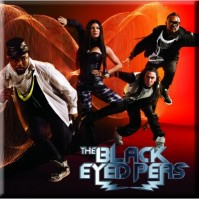 Black Eyed Peas Metal Steel Fridge Magnet Boom Boom Pow Album Official