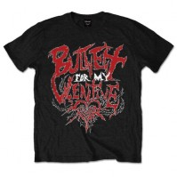Bullet For My Valentine BFMV Mens Small T-Shirt Tee Black Doom Design Official